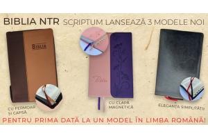 Scriptum lanseaza 3 modele noi de Biblii