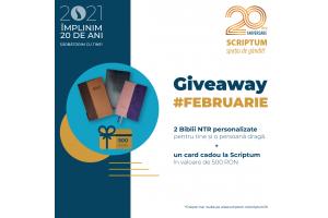 SCRIPTUM#20 cadoul din februarie