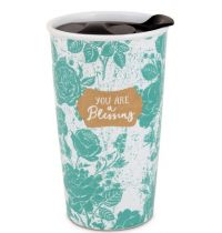 Cana din ceramica termorezistenta - You are a Blessing (seria Pretty Prints)