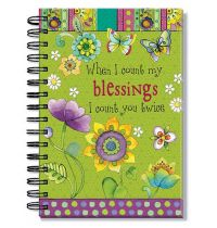Jurnal cu spirala - When I count my blessings I count you twice