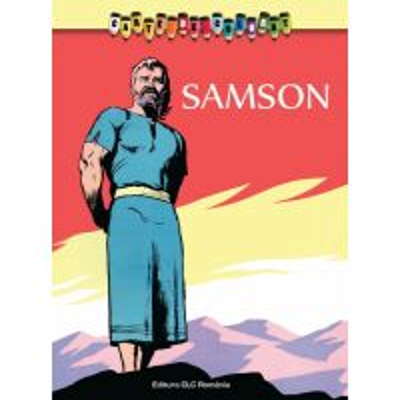 Carte de colorat - Samson - Intamplari din Vechiul Testament