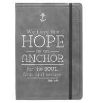 Jurnal din piele - We have this Hope as an Anchor