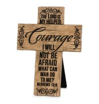 Cruce Courage Wood Grain Crosses
