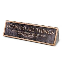 Placa pentru birou - I Can Do All Things