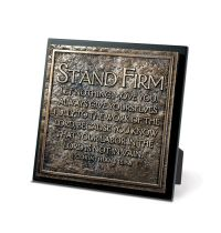 Placa - Stand firm