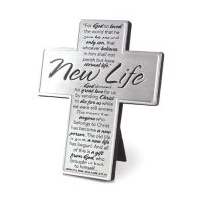 Cruce argintie - New life