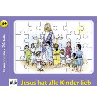 "Puzzle in rama ""Jesus hat alle Kinder lieb"""