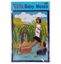 Puzzle in rama Baby Moses (36 piese)