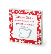 Placa mica - Glory to God