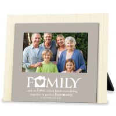 Rama foto din lemn - Family