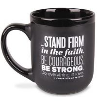 Cana din ceramica - Stand Firm (Encourage Men Mug Series)