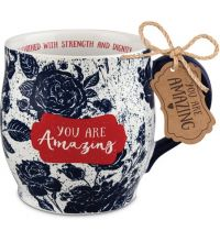 Cana din ceramica Pretty Prints You Are Amazing Prov.31.25
