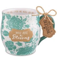 Cana din ceramica - You are a blessing (seria Pretty Prints)