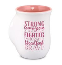 Cana din ceramica - Strong And Courageous (seria Handwarmer)