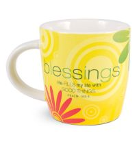 Cana din ceramica - Blessings