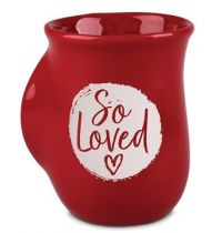 Cana din ceramica - 1 John 4:7 (So Loved) - Handwarmer