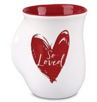 Cana din ceramica - 1 Peter 1:22 (So Loved) - Handwarmer