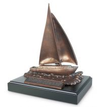 Sculptura Sailboat Jeremiah 29:11