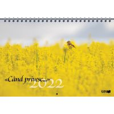 Cand privesc...Calendar 2022
