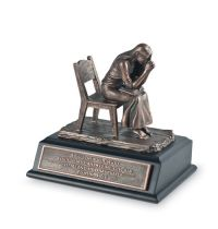 Mini sculptura - Praying woman