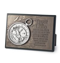 Placa mica in relief - Trust in the Lord