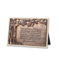 Placa mica in relief - Bless you