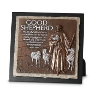 Placa medie in relief - Good Shepherd (Ministry Edition)