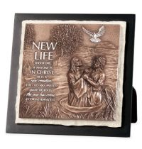 Placa medie in relief - New Life