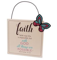 Placa din MDF -  Faith
