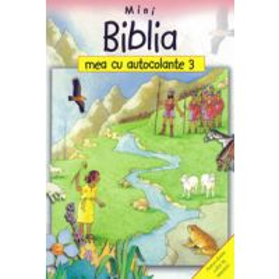 Mini Biblia mea cu autocolante 3