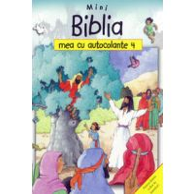 Mini Biblia mea cu autocolante 4