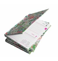 Agenda datata zilnica watercolor flowers A5 2021