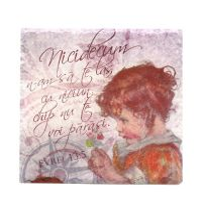 Suport de cratita verset - Evrei 13:5