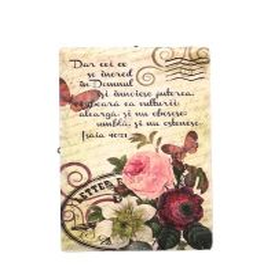 Tablou vintage cu verset - Isaia 40:31