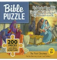 Puzzle biblic 200 piese - The First Christmas