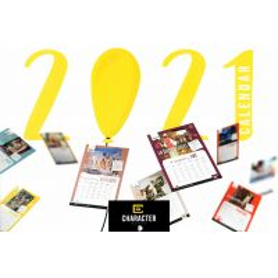 Calendar 2021- Character - pentru copii