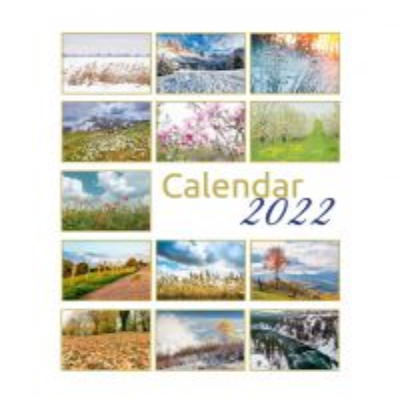Calendar 2022 - Mare de perete