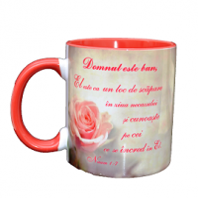Cana din ceramica: Domnul este bun (Naum 1:7)