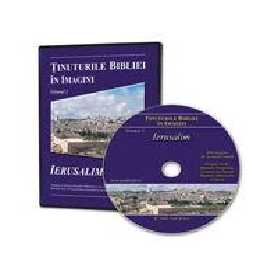 CD Tinuturile Bibliei in imagini - volumul 3 - Ierusalim
