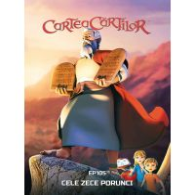 DVD Cartea cartilor - Ep. 5 Cele Zece Porunci