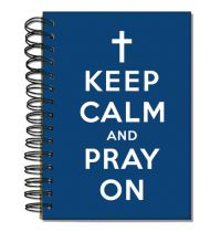Jurnal spirala - Keep calm and pray on