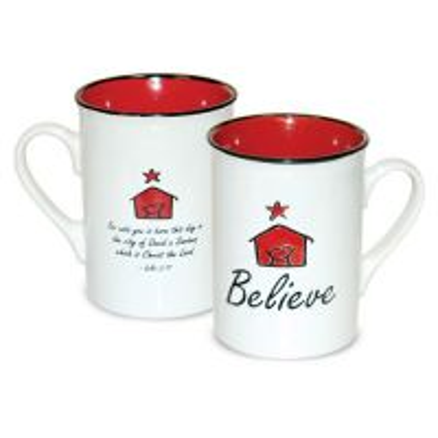 Cana din ceramica - Believe