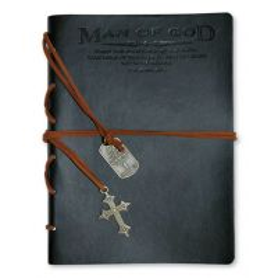 Jurnal din piele ecologica - Man of God (seria Faux Leather)