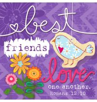 Magnet canvas  Best friends