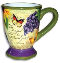 Cana ceramica color The Cheerful Heart