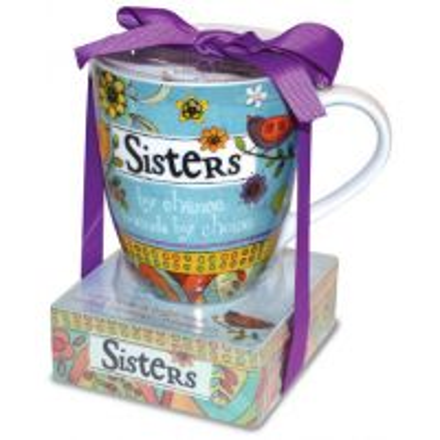 Set cadou Cana si notes adeziv - Sisters
