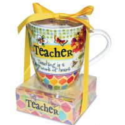 Set cadou Cana si notes adeziv - Teacher