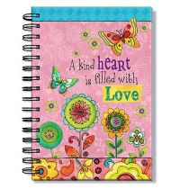 Jurnal cu spirala - A kind heart is filled with Love