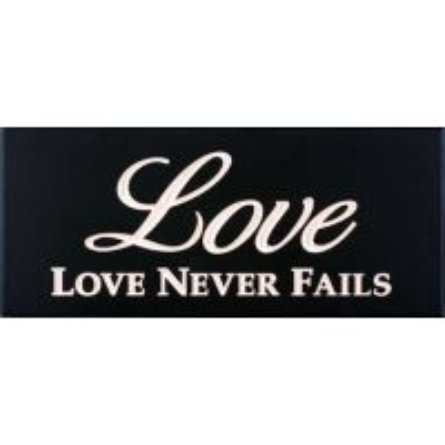 Placa decorativa din lemn - Love