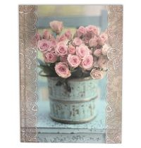 Notes cu design floral vintage